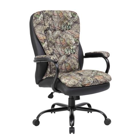 Heavy Duty Executive Chair Mossy Oak