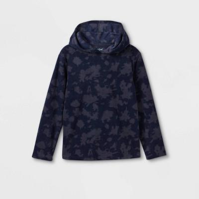 Boys' Printed Fleece Hooded Sweatshirt - Cat & Jack™