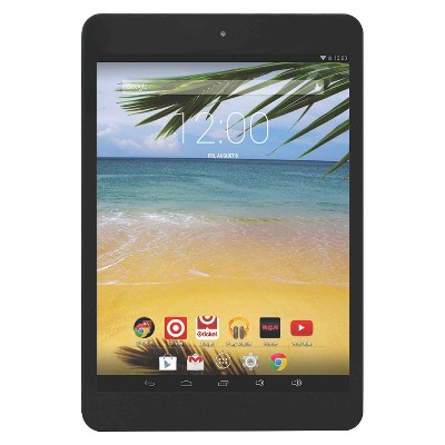 """RCA 8"""" Android Tablet 1 GB RAM 1.4 GHz Quad Core Processor - Black (RCT6573W23)"""