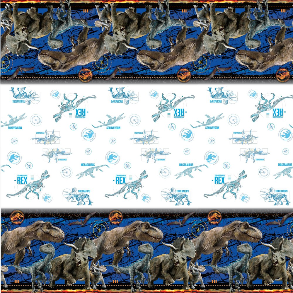 Jurassic World Paper Tablecovers, Multi-Colored
