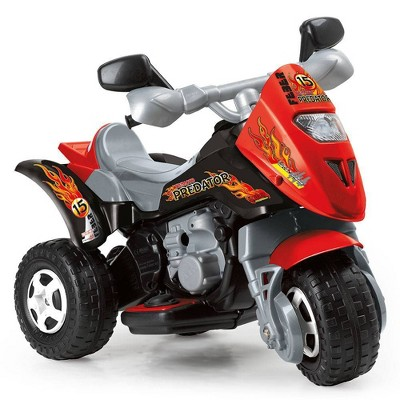 Feber 6V Trimoto Preditor 3 Wheel Powered Ride-On - Red