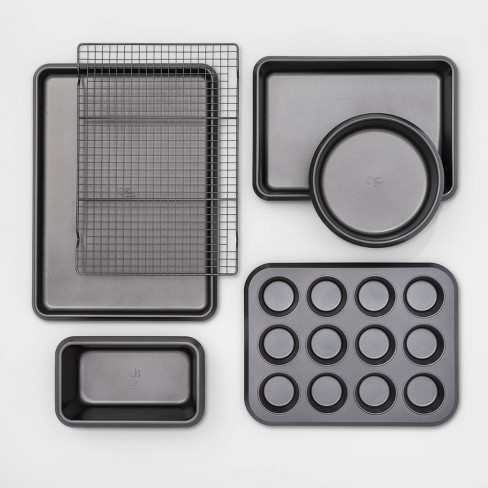 6pc Carbon Steel Bakeware Set - Made By Design™ - image 1 of 4