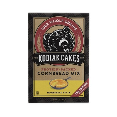 Kodiak Cakes Protein-Packed Cornbread Mix