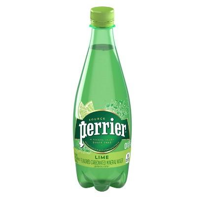Perrier Lime Sparkling Water - 16.9 fl oz Bottle