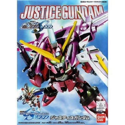 Bandai Hobby SEED Senshi Legend BB #268 BB268 Justice Gundam SD Model Kit