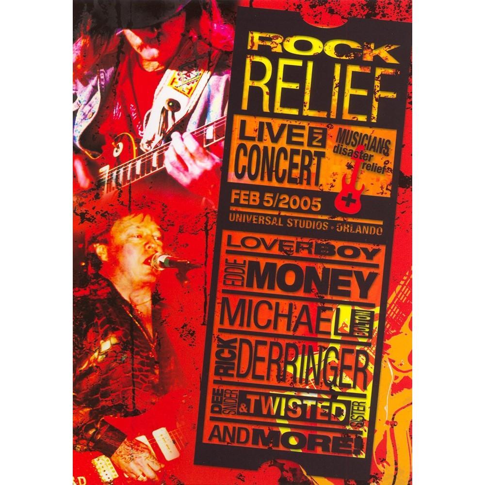 Rock Relief:Live In Concert (Dvd)
