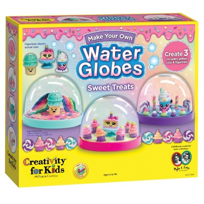Creativity For Kids Make Your Own Water Globes Sweet Treats Kit