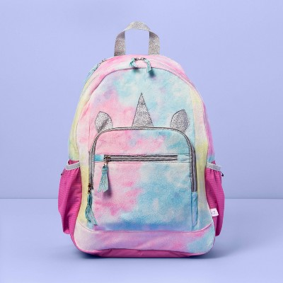 "17"" Kids' Backpack Unicorn with Hood - More Than Magic™"