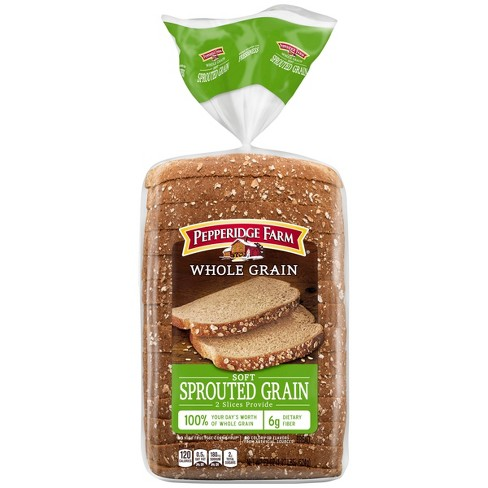Pepperidge Farm whole Grain Soft Sprouted Grain Bread - 22oz - image 1 of 4