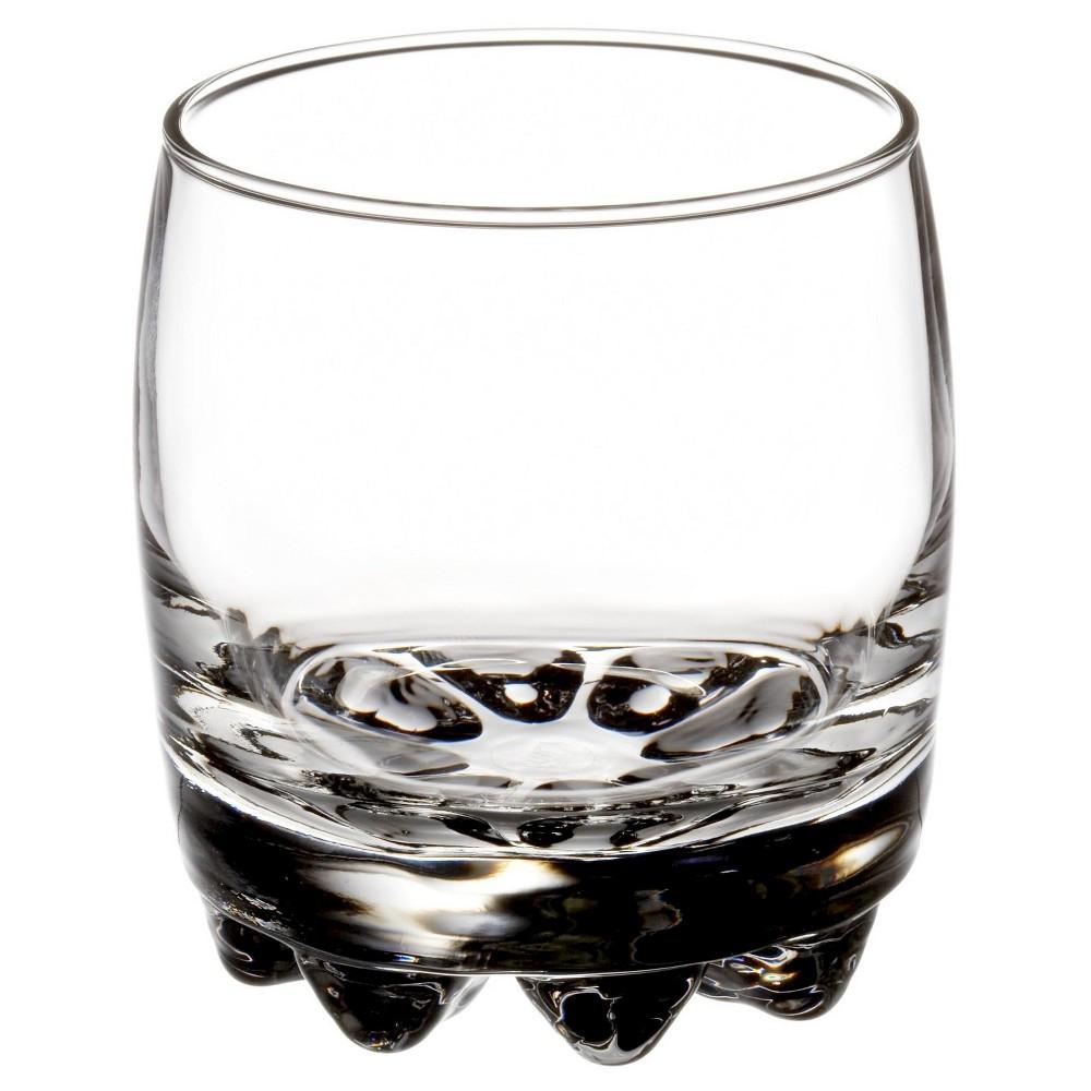 Bormioli Rocco Galassia 10oz Rocks Glass - Set of 4, Clear