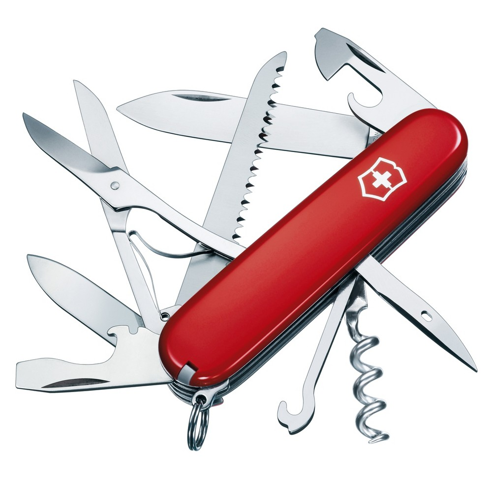 Image of Victorinox Swiss Army Huntsman Knife with Clip Pouch
