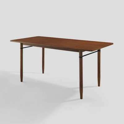 """68"""" Contemporary Tapered Leg Elegant Dining Table - Saracina Home"""
