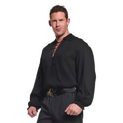 e10945fbd Men's Pirate Shirt White Costume : Target