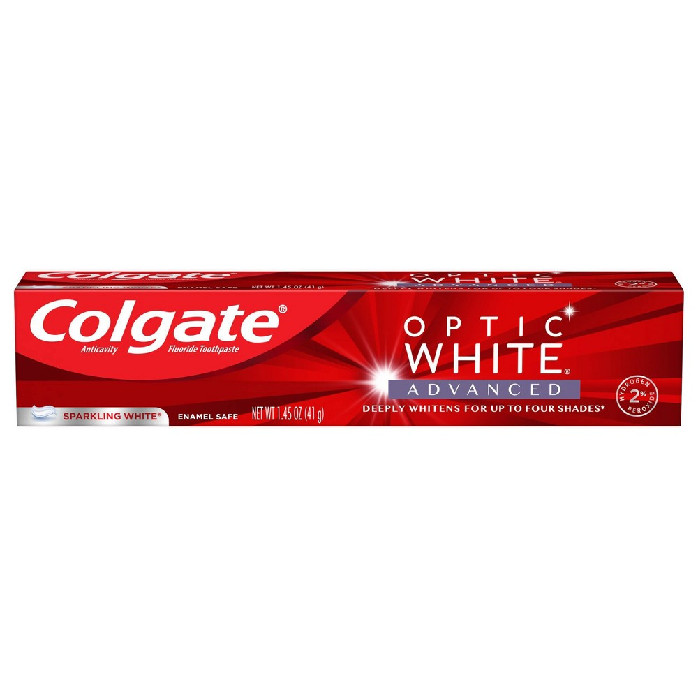 Colgate Colgate Optic White Advanced Whitening Toothpaste With 2