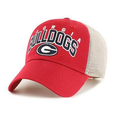 NCAA Georgia Bulldogs Men's Hunch Relaxed Fit Hard Mesh Back Snapback Hat