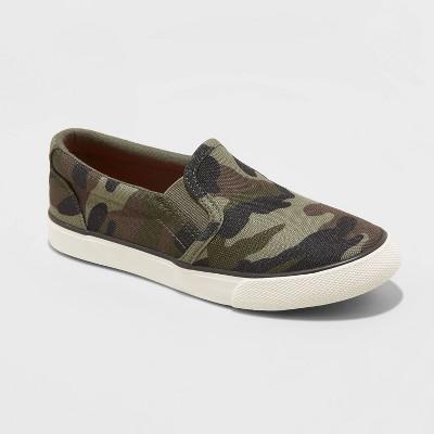 Boys' Enzo Slip-On Apparel Sneakers - Cat & Jack™
