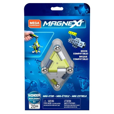 Mega Construx Magnext Mag-star Magnetic Construction Toy