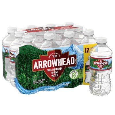 Arrowhead Brand 100% Mountain Spring Water - 12pk/12 fl oz Bottles