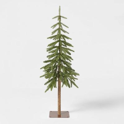 4ft Unlit Downswept Alpine Balsam Artificial Christmas Tree - Wondershop™