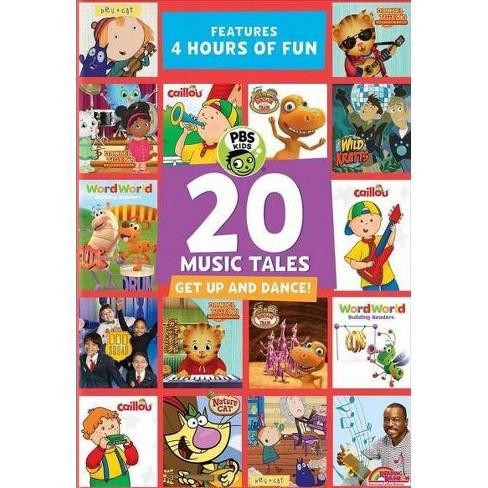 PBS Kids: 20 Music Tales (DVD)(2018) - image 1 of 1