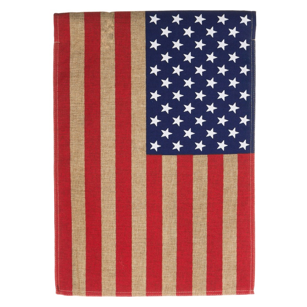 0.1 H Polyester Flag - Evergreen, Multi-Colored