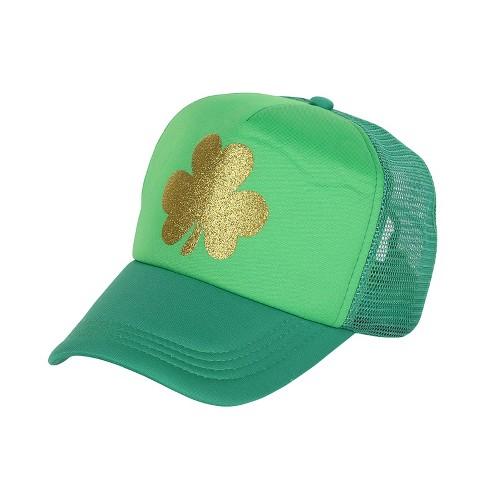 68f606566d St. Patrick s Day Trucker Hat Green - Spritz™   Target