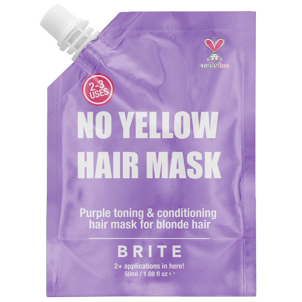 Image of Brite No Yellow Hair Mask - 1.69 fl oz