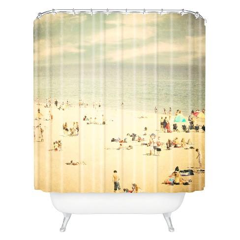 Vintage Beach Shower Curtain Desert