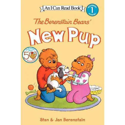 The Berenstain Bears' New Pup - (I Can Read Books: Level 1) by  Jan Berenstain & Stan Berenstain - image 1 of 1