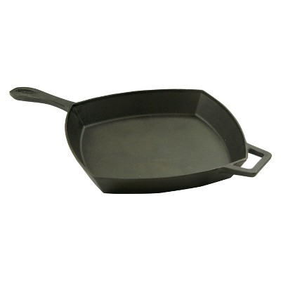 Bayou Classic Cast Iron 12in Square Skillet