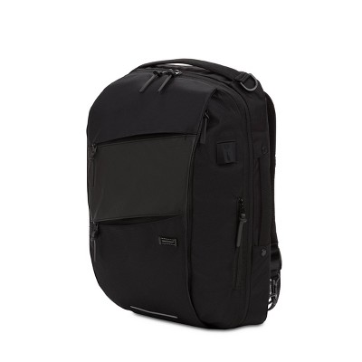 "SWISSGEAR 19"" Hybrid Backpack/Messenger - Black"