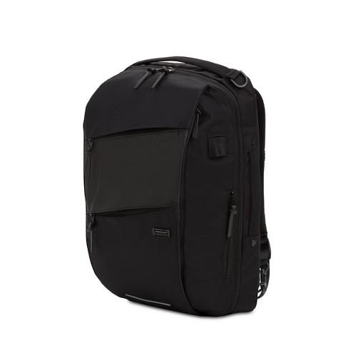 Swissgear 18 Hybrid Backpack Messenger Black