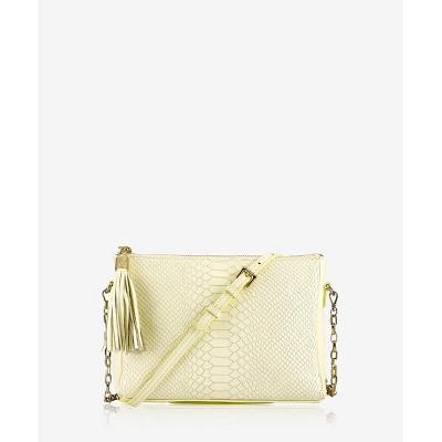 GiGi New York Yellow Hailey Crossbody Bag