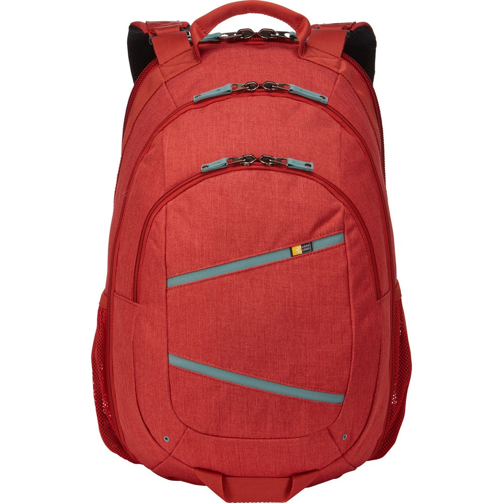 "Image of ""Case Logic 20"""" Berkeley II Backpack - Brick, Red"""