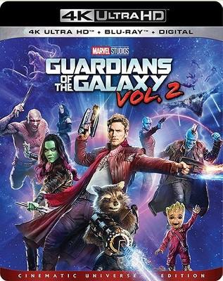 Guardians Of The Galaxy: Volume 2 (4K/UHD + Blu-ray + Digital)