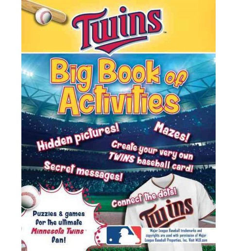 Minnesota Twins : The Big Book of Activities (Paperback) (Peg Connery-Boyd) - image 1 of 1