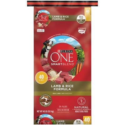 Purina ONE SmartBlend Lamb & Rice Formula Adult Dry Dog Food