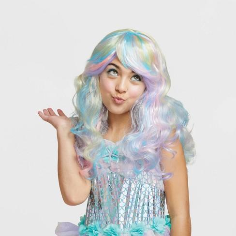 Girls' Mermaid Halloween Costume Wig - Hyde & EEK! Boutique™ - image 1 of 1