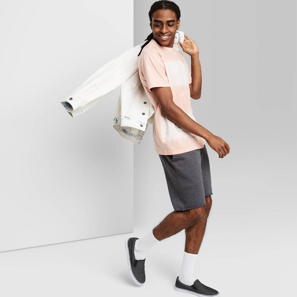 Men 39 S Regular Fit 8 5 34 Knit Jogger Shorts Original Use 8482 Charcoal Gray L