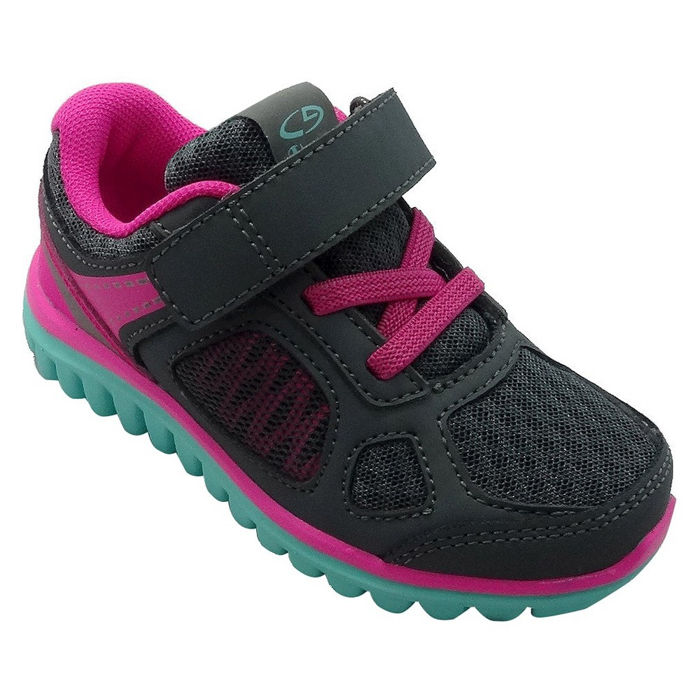Toddler Girls' Premier 4 Performance Athletic Shoes C9 Champion - Gray 6