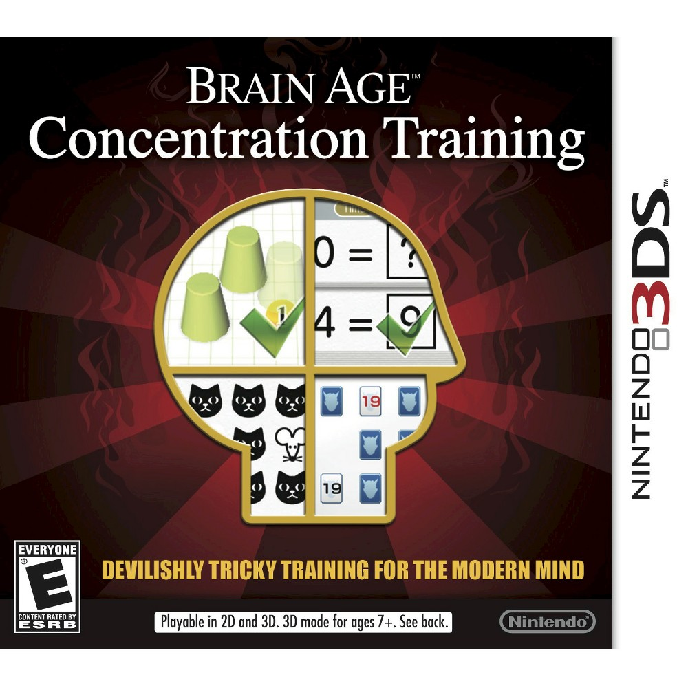 Brain Age: Concentration Training Nintendo 3DS