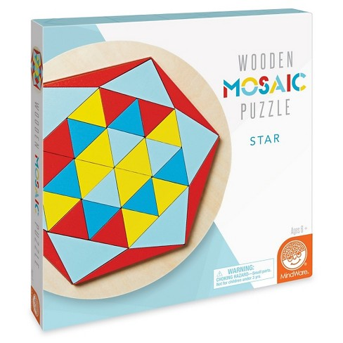 Mindware Mosaic Star Puzzle 38pc - image 1 of 2