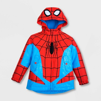 Boys' Marvel Spider-Man Rain Jacket - Red - Disney Store
