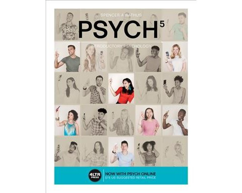 PSYCH : Introductory Psychology (Paperback) (Spencer A. Rathus) - image 1 of 1