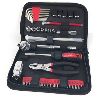 Apollo Tools 56pc SAE DT9774 Auto Tool Set In Zippered Case