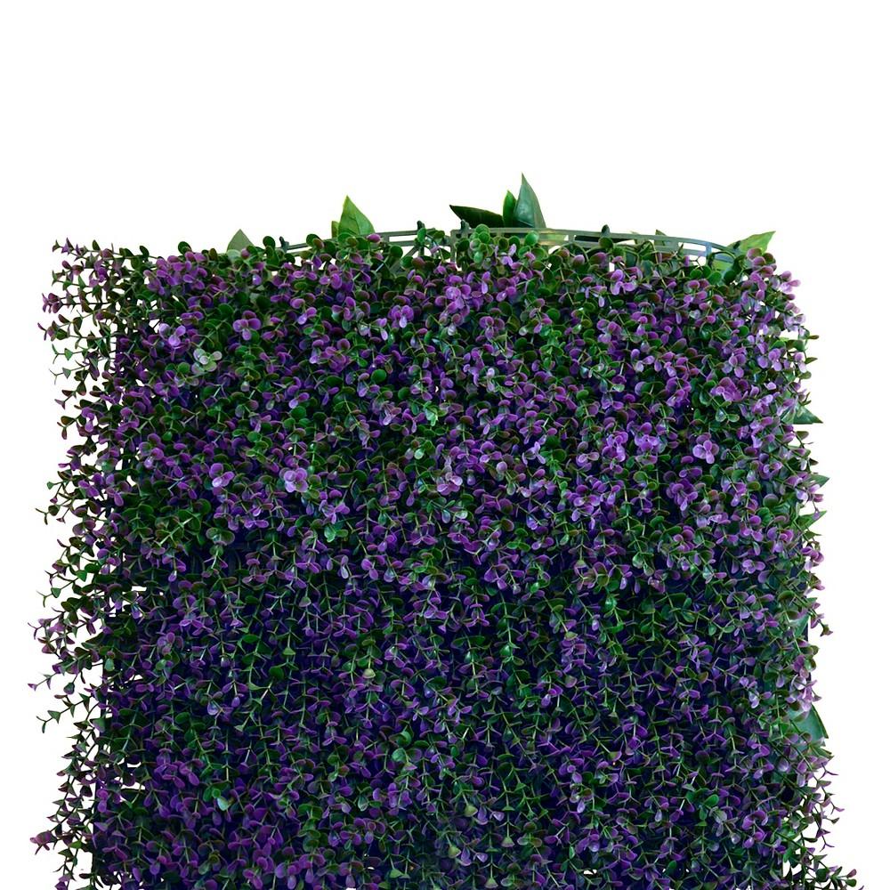 Image of Greensmart Decor Artificial Lavender Panel Set of 4 - Green