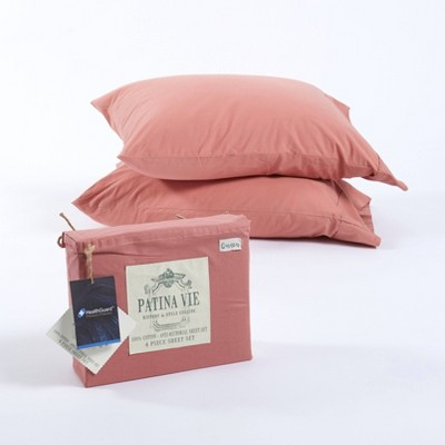 Sheet Set with Antimicrobial Protection - Patina Vie