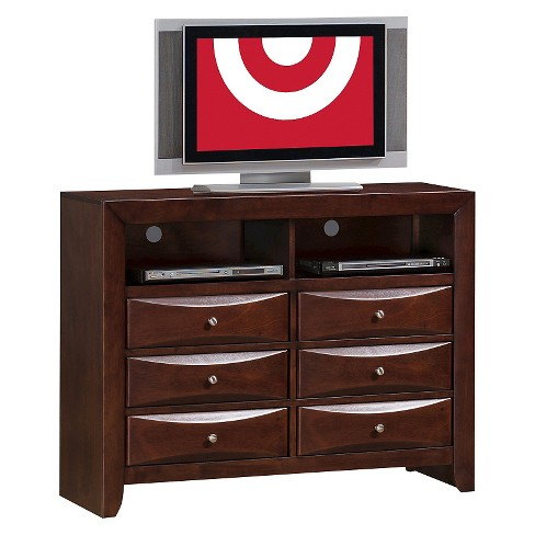 Claire 6-Drawer Media Chest Rich Espresso - Picket House Furnishings - image 1 of 3
