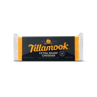 Tillamook Extra Sharp Cheddar Cheese Loaf - 8oz