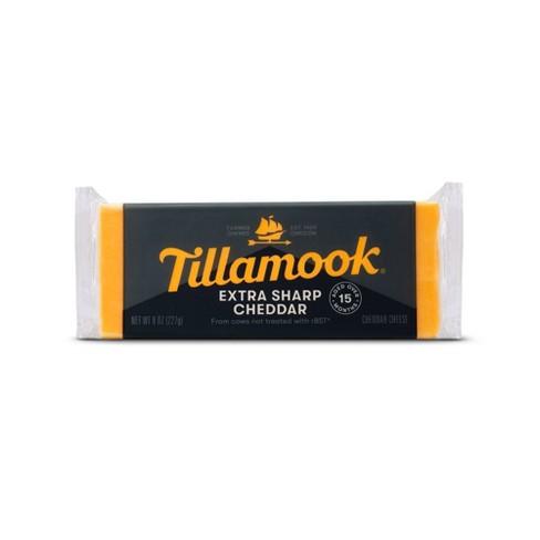 Tillamook Extra Sharp Cheddar Cheese Loaf - 8oz - image 1 of 4